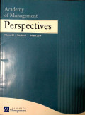 Academy of Management Perspectives Vol 28 No.3