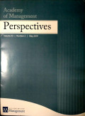 Academy of Management Perspectives Vol 33 No.2