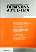 International Research Journal of Business Studies V 5 No. 2