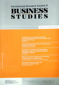 International Research Journal of Business Studies Vol 5 No. 3