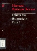 Ethics for executives : part I