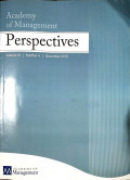 Academy of Management Perspectives Vol 33 No.4