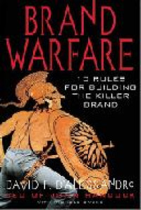 Image of Brand warfare : 10 rules for building the killer brand