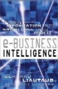 Image of e-Business intelligence : turning information into knowledge into profit
