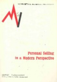 Image of Personal selling in a modern perspective